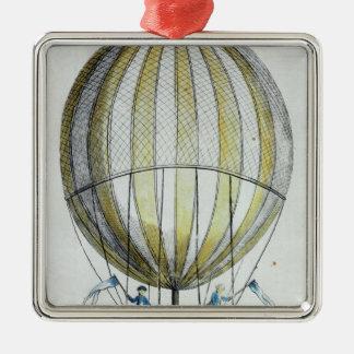 Jacques Charles and Nicholas Robert's  Balloon Metal Ornament