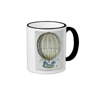 Jacques Charles and Nicholas Robert's  Balloon Ringer Mug