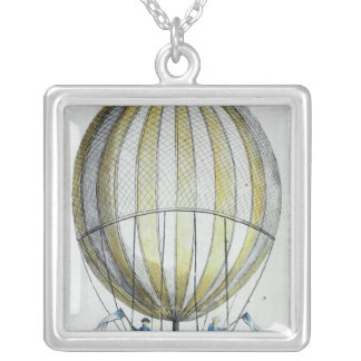 Jacques Charles and Nicholas Robert's  Balloon Silver Plated Necklace