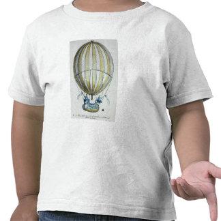 Jacques Charles and Nicholas Robert's  Balloon Tees