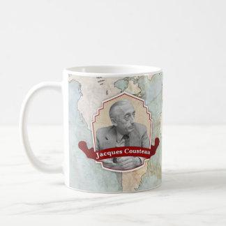 Jacques Cousteau Historical Mug