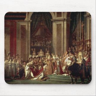 Jacques David-Consecration & Coronation Mouse Pad