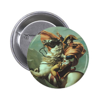 Jacques-David- Napoleon Crossing the Alps Buttons