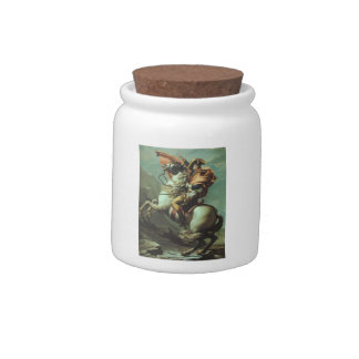 Jacques-David- Napoleon Crossing the Alps Candy Jars