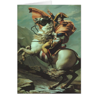 Jacques-David- Napoleon Crossing the Alps Cards