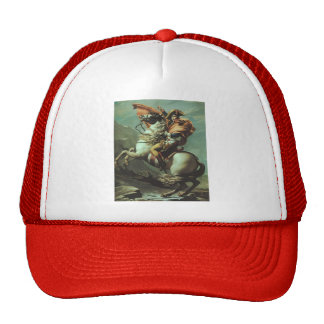 Jacques-David- Napoleon Crossing the Alps Trucker Hat