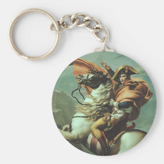 Jacques-David- Napoleon Crossing the Alps Keychains
