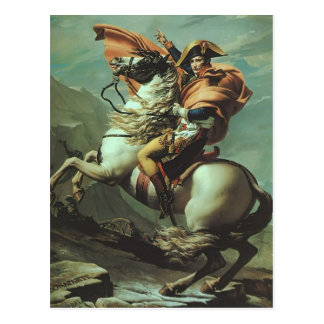 Jacques-David- Napoleon Crossing the Alps Post Cards