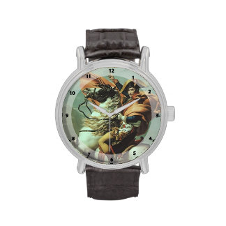 Jacques-David- Napoleon Crossing the Alps Wristwatch