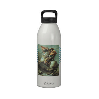Jacques-David- Napoleon Crossing the Alps Water Bottle
