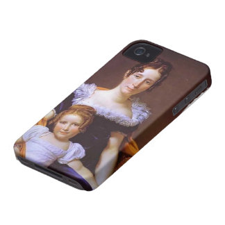 Jacques David-Portrait of Countess Vilain XIIII Case-Mate iPhone 4 Cases