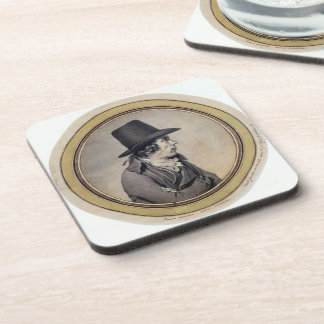 Jacques David: Portrait of Jeanbon Saint André Beverage Coaster