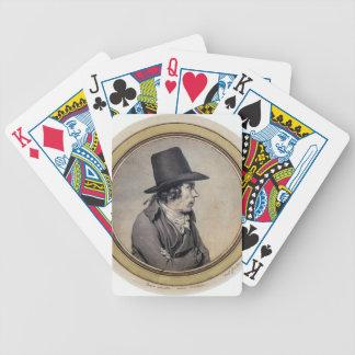 Jacques David: Portrait of Jeanbon Saint André Bicycle Card Decks