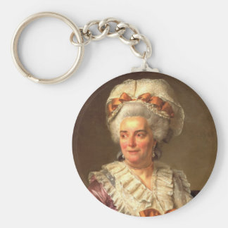 Jacques David- Portrait of Madame Charles Keychains