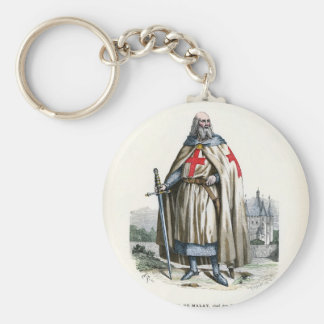 Jacques de Molay - Knight Templar Keychains