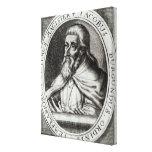 Jacques de Molay  Master of Knights Templars Canvas Print