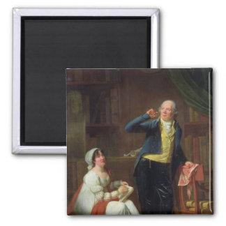 Jacques Delille y su esposa, 1802 Imán Cuadrado