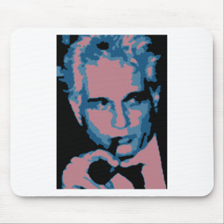 Jacques Derrida Mouse Pad