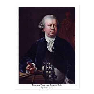 Jacques-Francois-Joseph Saly By Jens Juel Postcard