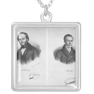 Jacques Fromental Halevy  and Ferdinand Herold Silver Plated Necklace