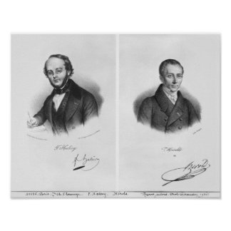 Jacques Fromental Halevy y Fernando Herold Posters