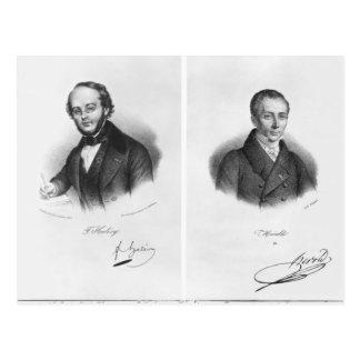 Jacques Fromental Halevy y Fernando Herold Postales