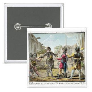 Jacques IL Goyon, señor de Matignon, toma Montgome Pin Cuadrado