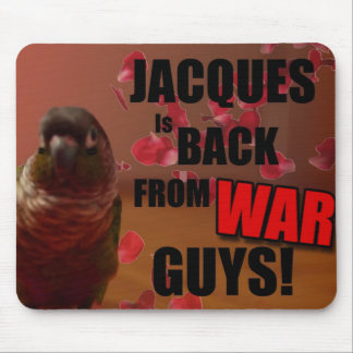 Jacques Is Back Mouse Pad