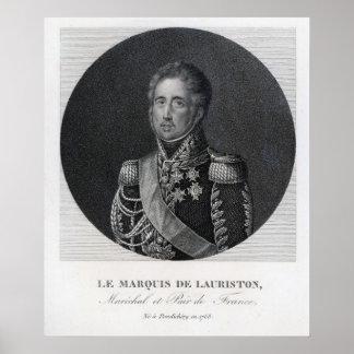 Jacques Law, Marquis de Lauriston Poster