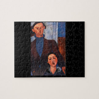 Jacques Lipchitz and his Wife_Portraits Jigsaw Puzzle