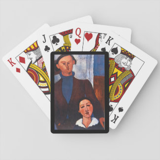 Jacques Lipchitz and his Wife_Portraits Poker Cards
