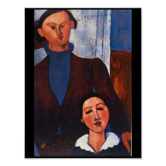 Jacques Lipchitz and his Wife_Portraits Poster