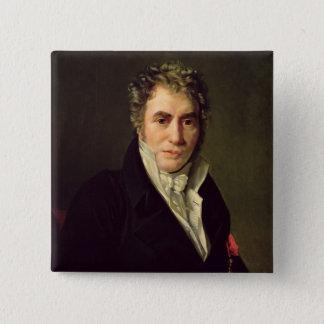 Jacques Louis David  1817 Pinback Button