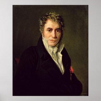 Jacques Louis David  1817 Poster