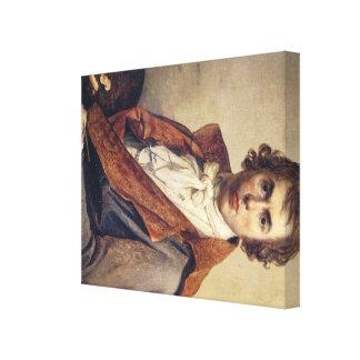 Jacques-Louis David Art Canvas Print