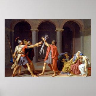 Jacques-Louis David Art Poster