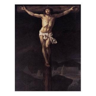 Jacques-Louis David- Christ on the Cross Postcard