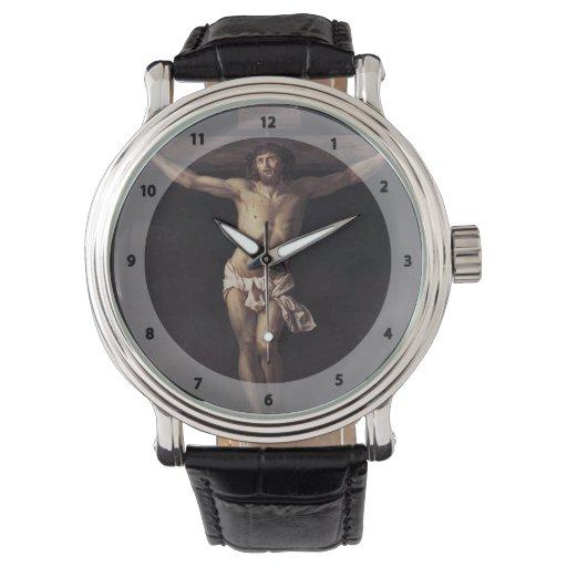 Jacques-Louis David Cristo en la cruz Relojes De Mano