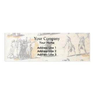 Jacques-Louis David: Deputies swearing oaths Business Cards