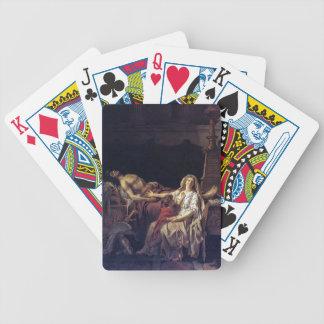 Jacques-Louis David el dolor de Andromache Baraja De Cartas