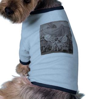 Jacques-Louis David la pena de Andromache Camisetas Mascota
