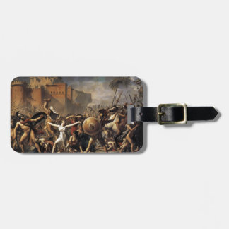 Jacques-Louis David las mujeres de la Sabine Etiquetas Para Maletas