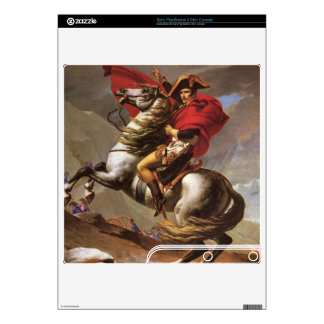 Jacques-Louis David - Napoleon crosses the great S PS3 Slim Decal