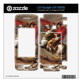 Jacques-Louis David - Napoleon crosses the great S Decals For LG Voyager