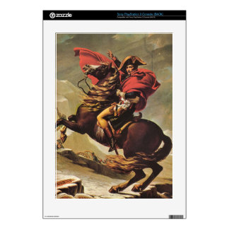 Jacques-Louis David - Napoleon crossing the Alps Skins For The PS3