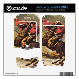 Jacques-Louis David - Napoleon crossing the Alps BlackBerry Pearl 3G Skins