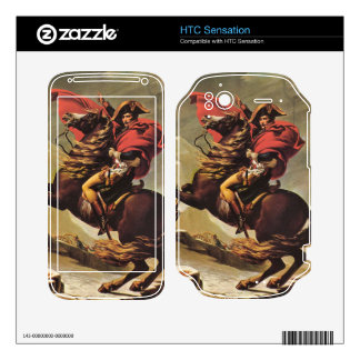 Jacques-Louis David - Napoleon crossing the Alps Decal For HTC Sensation