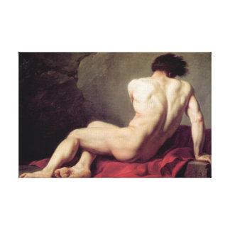 Jacques-Louis David - Patrocles Canvas Print