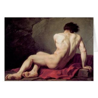Jacques-Louis David - Patrocles Greeting Card