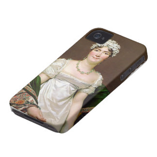 Jacques-Louis David- Portrait of Countess Daru iPhone 4 Case-Mate Case